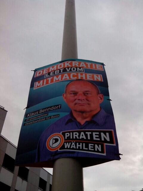 Direktkandidat Klaus Benndorf