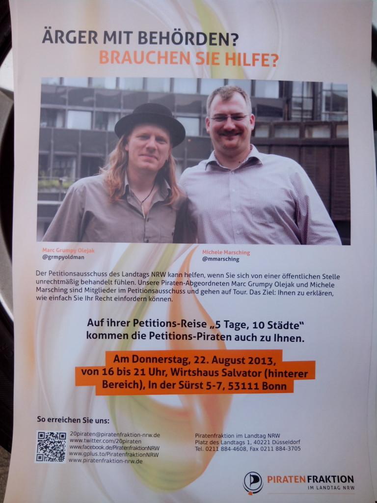 Petitionstour_Plakat