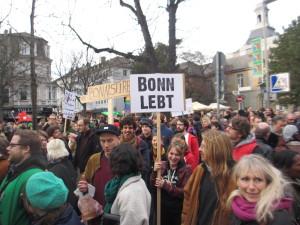 Bonn strirbt, lebt aber noch.
