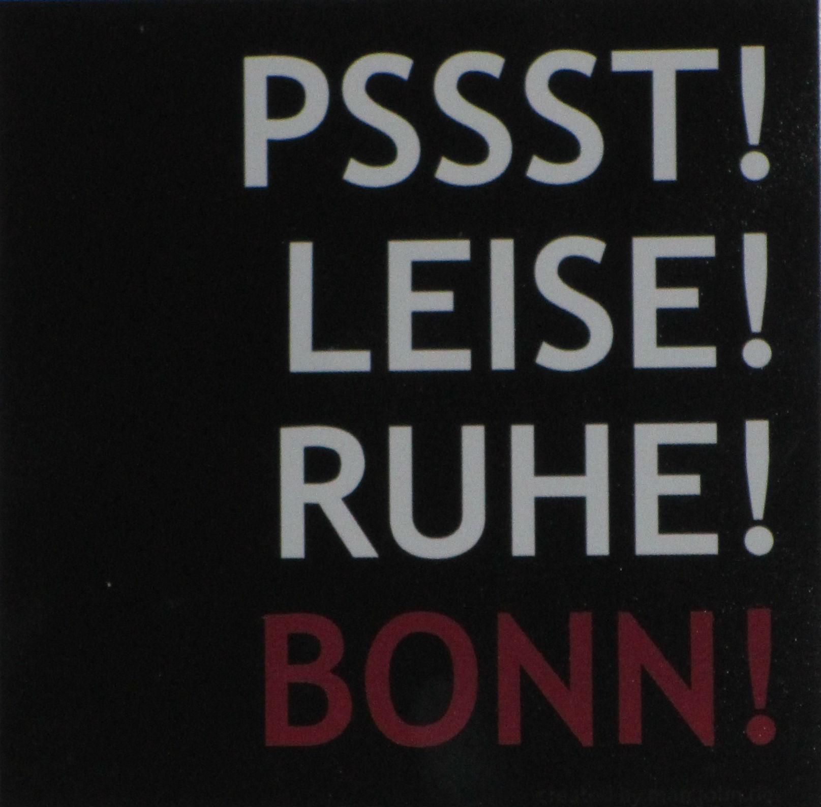 Leise! Bonn