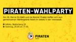 Piraten-Wahlparty - Am 26. Mai ist EU-Wahl und die Bonner Piraten treffen sich zum gemeinsamen Wahlergebnis feiern im bAbAz in der Innenstadt