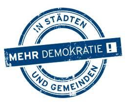 mehr Demokratie in der Kommunalpolitik !