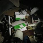 Ein Müllhaufen voller Unterlagen