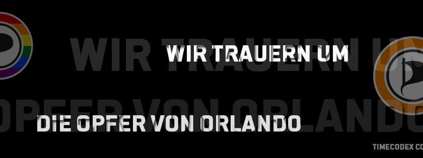 WIR TRAUERN UM DIE OPFER VON ORLANDO - TIMECODEX CC BY NC ND