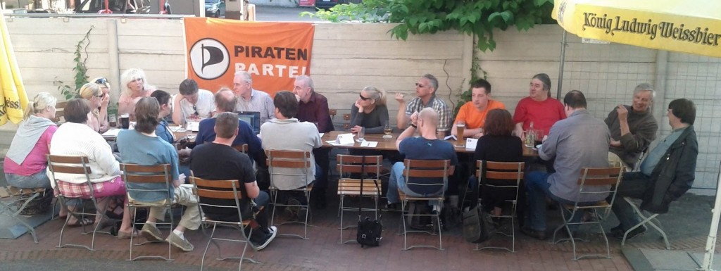 Piraten im Biergarten der Cobra