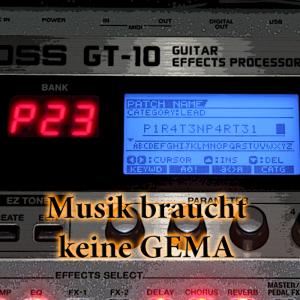 Cover einer CD mit GEMA-freier Musik